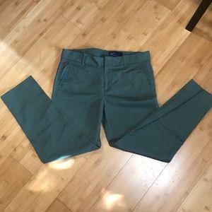 Like new Gap olive/army green pants